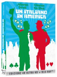 Cover Dvd Un italiano in America (Blu-ray + Blu-ray Ultra HD 4K)