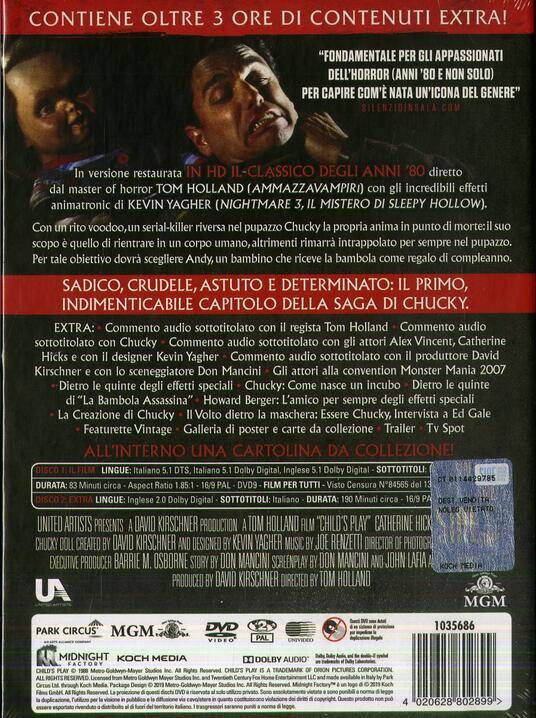 La bambola assassina (1988). Limited Edition (2 DVD) di Tom Holland - DVD - 2