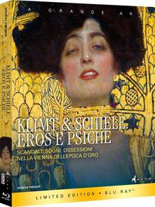 Klimt e Schiele. Eros e psiche (Blu-ray) di Michele Mally - Blu-ray