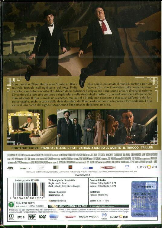 Stanlio e Ollio (DVD) di Jon S. Baird - DVD - 2