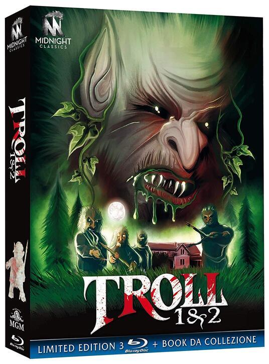 Troll 1-2 (3 Blu-ray) di John Carl Buechler,Claudio Fragasso