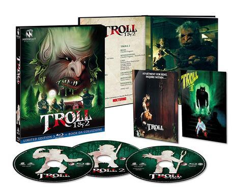 Troll 1-2 (3 Blu-ray) di John Carl Buechler,Claudio Fragasso - 2