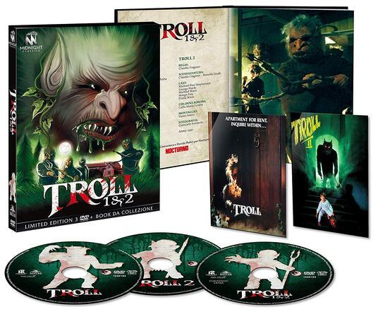 Troll 1-2 (3 DVD) di John Carl Buechler,Claudio Fragasso - 2
