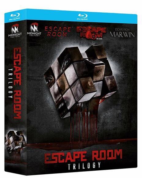 Escape Room Trilogy (3 Blu-ray) di Peter Dukes,Jordi Castejón,Will Wernick