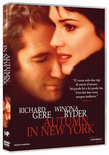 Autumn in New York (DVD) di Joan Chen - DVD