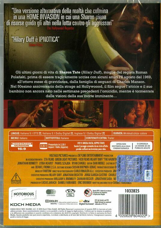 Sharon Tate. Tra incubo e realtà (DVD) di Daniel Farrands - DVD - 2