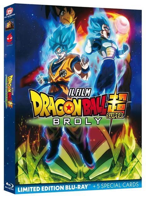Dragon Ball Super: Broly. Il Film (Blu-ray) di Tatsuya Nagamine - Blu-ray