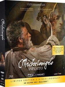 Michelangelo. Infinito. Con Booklet (Blu-ray + Blu-ray Ultra HD 4K) di Emanuele Imbucci - Blu-ray + Blu-ray Ultra HD 4K