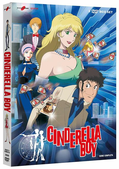 Cinderella Boy. Serie completa (3 DVD) di Tsuneo Tominaga - DVD