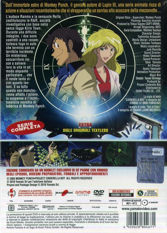 Cinderella Boy. Serie completa (3 DVD) di Tsuneo Tominaga - DVD - 3