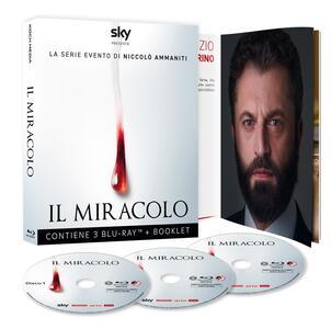 Il miracolo. Serie TV ita. Con Booklet  (3 Blu-ray) di Francesco Munzi,Lucio Pellegrini - Blu-ray