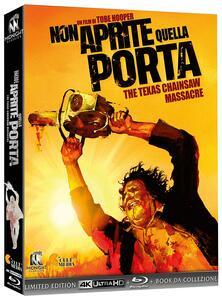 Non aprite quella porta (Blu-ray + Blu-ray Ultra HD 4K) di Tobe Hooper - Blu-ray + Blu-ray Ultra HD 4K