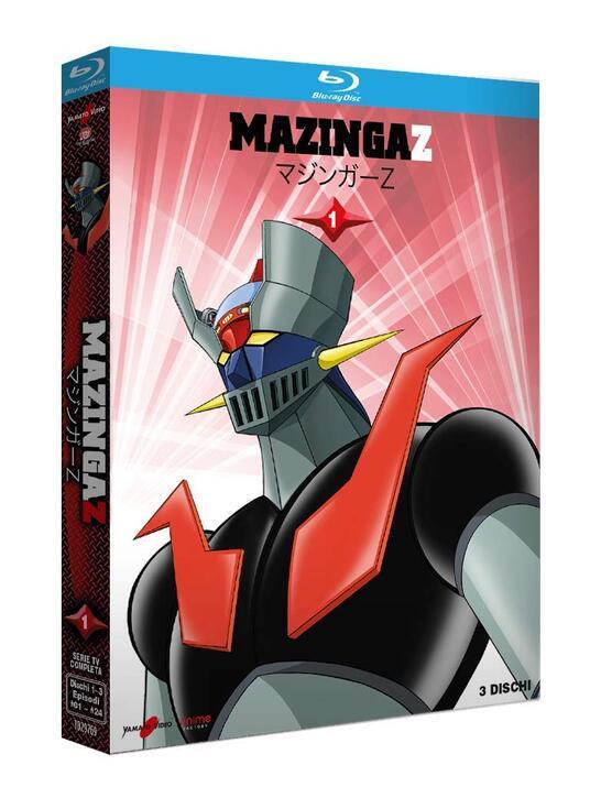 Mazinga Z vol.1 (3 Blu-ray) di Tomoharu Katsumata - Blu-ray