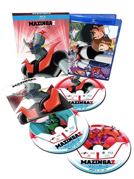 Mazinga Z vol.1 (3 Blu-ray) di Tomoharu Katsumata - Blu-ray - 2
