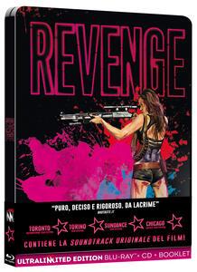 Film Revenge. Con Steelbook (Blu-ray + CD) Coralie Fargeat