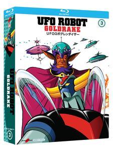 Ufo Robot Goldrake vol. 3 (Blu-ray) di Masayuki Akehi,Tomoharu Katsumata,Masamune Ochiai - Blu-ray