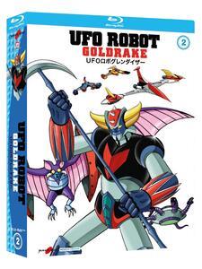 Ufo Robot Goldrake. Volume 2 (3 Blu-ray) di Masayuki Akehi,Tomoharu Katsumata,Masamune Ochiai - Blu-ray