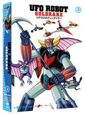 Film Ufo Robot Goldrake. Volume 2 (6 DVD) Masayuki Akehi Tomoharu Katsumata Masamune Ochiai
