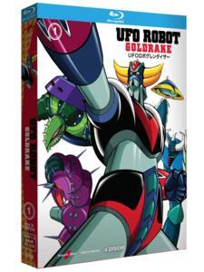 Ufo Robot Goldrake. Volume 1 (4 Blu-ray) di Masayuki Akehi,Tomoharu Katsumata,Masamune Ochiai - Blu-ray