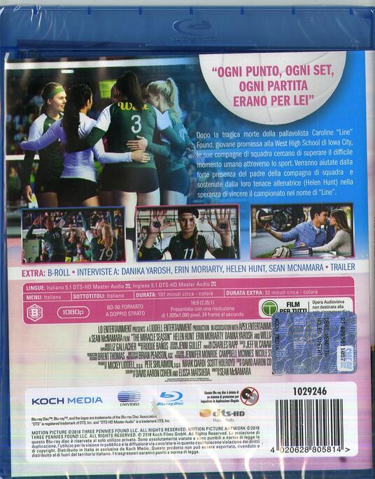 The Miracle Season. Una stagione da ricordare (Blu-ray) di Sean McNamara - Blu-ray - 2