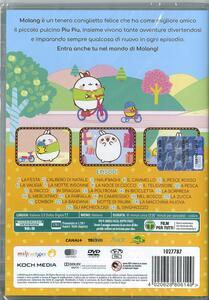 Molang. Nel bosco (DVD) di Stephanie Miziak,Marie-Caroline Villand - DVD - 2