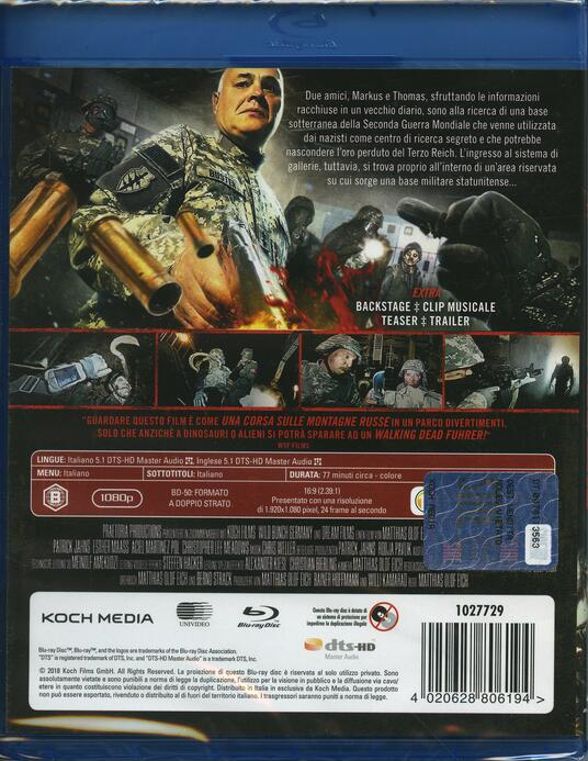 Bunker of the Dead (Blu-ray) di Matthias Olof Eich - Blu-ray - 2