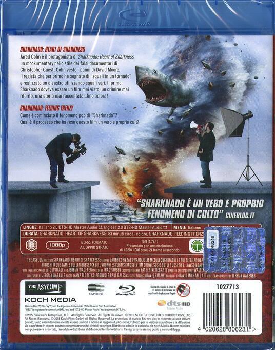 Sharknado. Alle origini del mito (2 Blu-ray) di Jeremy Wagener - Blu-ray - 2