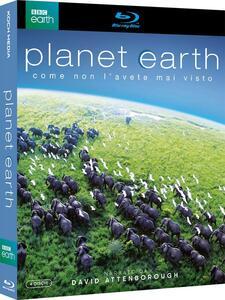 Planet Earth. Pianeta Terra. Edizione speciale (4 Blu-ray) di Alastair Fothergill - Blu-ray