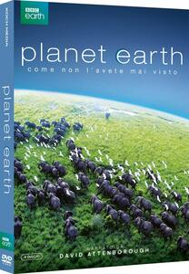 Planet Earth. Pianeta Terra. Edizione speciale (4 DVD) di Alastair Fothergill - DVD