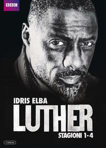 Luther. Stagioni 1 - 4. Serie TV ita (5 Blu-ray) - Blu-ray