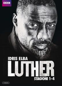 Luther. Stagioni 1 - 4. Serie TV ita (7 DVD) - DVD