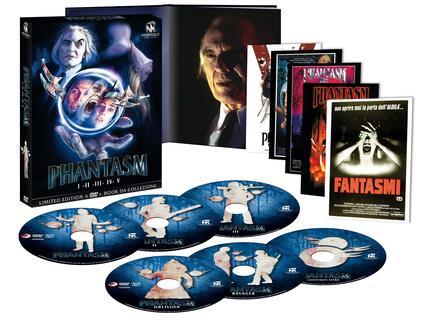 Cofanetto Phantasm 1-5 (6 DVD) di Don Coscarelli,David Hartman