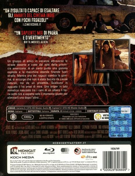Downrange (Blu-ray) di Ryûhei Kitamura - Blu-ray - 2