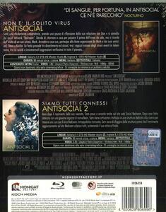 Antisocial 1-2 (2 Blu-ray) di Cody Calahan - 2