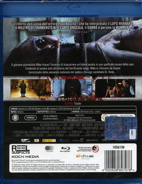 Wax (Blu-ray) di Víctor Matellano - Blu-ray - 2