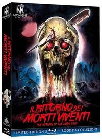 Cover Dvd Il ritorno dei morti viventi. Edizione limitata con Booklet (3 Blu-ray)