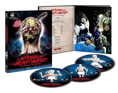 Il ritorno dei morti viventi. Edizione limitata con Booklet (3 Blu-ray) di Dan O'Bannon - Blu-ray - 2