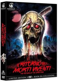 Cover Dvd Il ritorno dei morti viventi. Edizione limitata con Booklet (3 DVD)