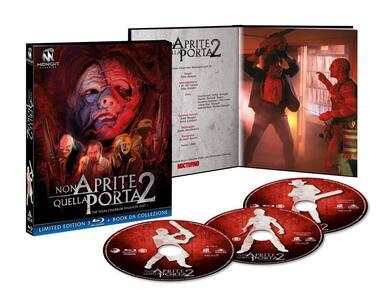 Non aprite quella porta 2. Limited Edition con Booklet (3 Blu-ray) di Tobe Hooper - Blu-ray