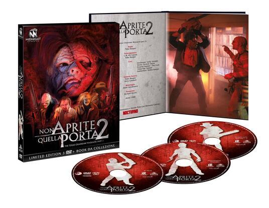 Non aprite quella porta 2. Limited Edition con Booklet (3 DVD) di Tobe Hooper - DVD