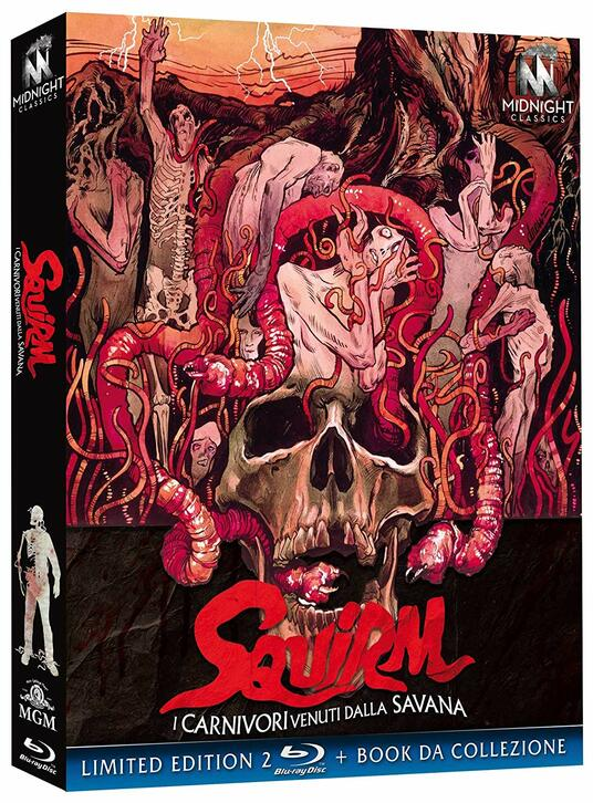 I carnivori venuti dalla Savana. Squirm (Blu-ray) di Jeff Lieberman - Blu-ray