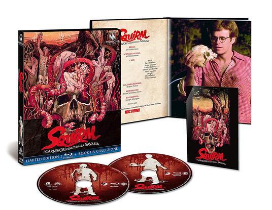 I carnivori venuti dalla Savana. Squirm (Blu-ray) di Jeff Lieberman - Blu-ray - 2