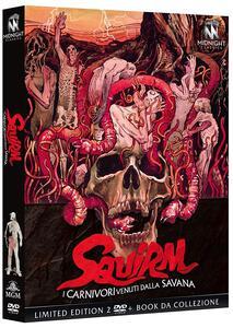 Film I carnivori venuti dalla Savana. Squirm (DVD) Jeff Lieberman