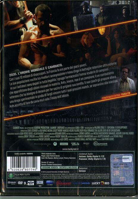 Ares (DVD) di Jean-Patrick Benes - DVD - 2