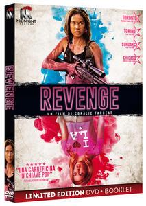 Revenge. Limited Edition con Booklet (DVD) di Coralie Fargeat - DVD