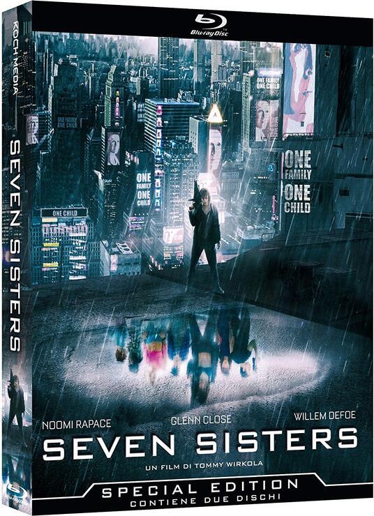 Seven Sisters. Limited edition con 7 card da collezione (2 Blu-ray) di Tommy Wirkola - Blu-ray