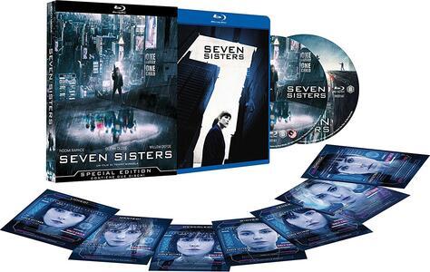 Seven Sisters. Limited edition con 7 card da collezione (2 Blu-ray) di Tommy Wirkola - Blu-ray - 2