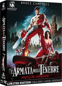 Cover Dvd L' armata delle tenebre. Limited edition con Booklet (DVD + Blu-ray)