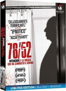 Film 78/52. Hitchcock e la doccia che ha cambiato il cinema. Limited edition con Booklet (2 Blu-ray) Alexandre O. Philippe