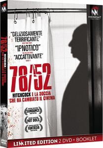 78/52. Hitchcock e la doccia che ha cambiato il cinema. Limited edition con Booklet (2 DVD) di Alexandre O. Philippe - DVD